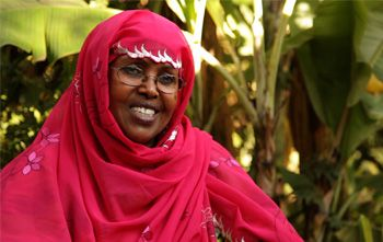 Shukri Ismail: b. approx. 1937; Shurki is a co-founder and chairperson of Candlelight, an NGO dedicated to the improvement of the quality of life of the Samaliland community, and has been instrumental in making it one of the largest organizations in Somaliland.  A founding member of NAGAAD Network, a network in Somaliland, she campaignes for women's rights. She was the only female election commissioner for Somaliland's 1st National Election Commission.