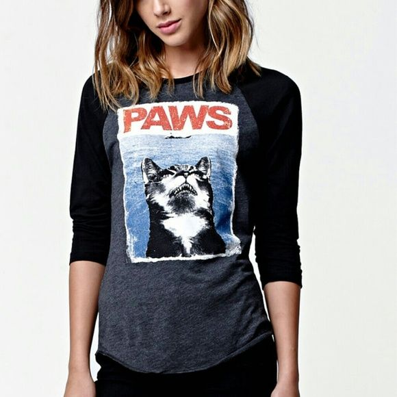 ISO Riot Society Paws shirt ISO Riot Society Paws Shirt in woman's small or xs. Either white or black. Raglan or tank. Thanks riot society Tops Tees - Short Sleeve