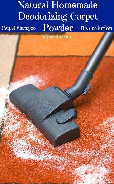 Desodoriser et antiacarins pour le tapis – Nettoyer, désodoriser et tuer les acariens et les puces, du bicarbonate, des huiles essentielles et une saupoudreuse.....mixer, saupoudrer, laisser 15 minutes et aspirer.......tadam.....