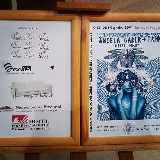 Muzyka #AngelaGaber Trio godna polecenia!  #BeeYes #mecenat #kultury #przemyśl #koncert #święta