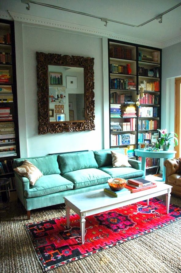 Vintage Home Interior Design: 17 Best Ideas About Turquoise Sofa On Pinterest