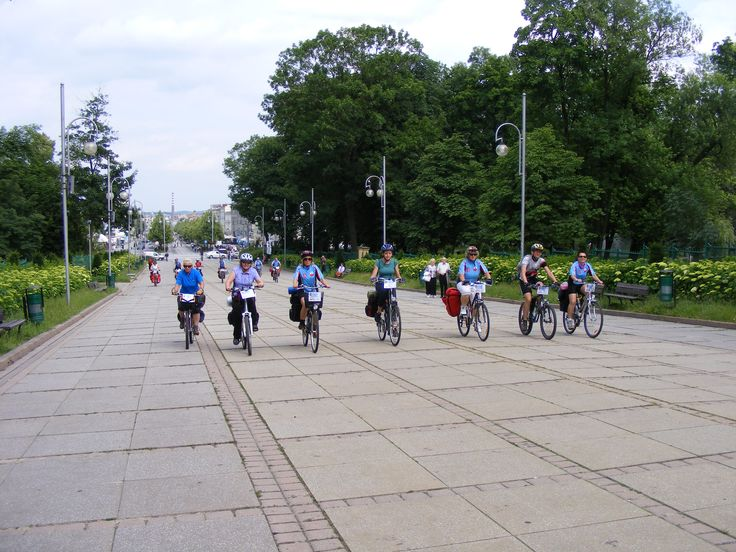 a bike trip mountains - Częstochowa- Kościan
