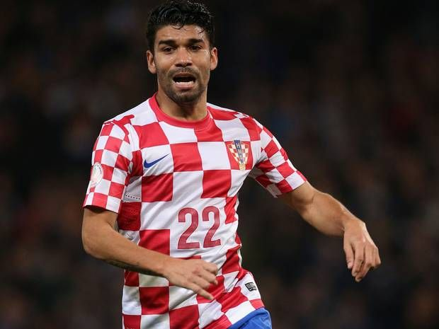 World Cup 2014: Eduardo da Silva to sing both national anthems for Croatia v Brazil June 12th. Plays for Croatia