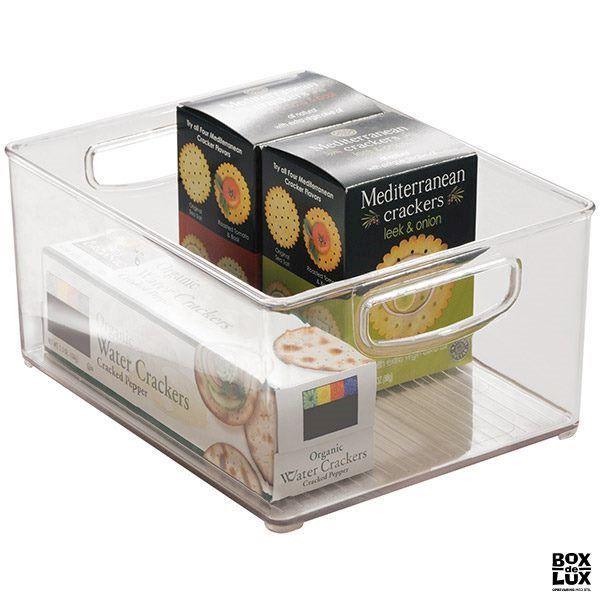 Kasse til organisering i køkkenskabet med håndtag