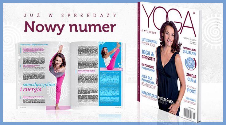...i joga jest mi bliska! Współpraca z bardzo autentycznym magazynem o tej tematyce skutkuje spotkaniami z niesamowitymi ludźmi ze świata showbiznesu, którzy znajdują spokój w wyciszeniu jakie właśnie daje joga. Na zdjęciu z okładki patrzy na WAS wspaniała aktorka - Małgorzata Pieczyńska, wiecznie młoda, zdrowa i pełna życia - jak tu nie wierzyć w dobro, które niesie ze sobą. #joga #swiatjogi #yoga&ayurveda #malgorzatapieczynska #pieczynska #polskaaktorka #polishactress #photoshootofthe day…