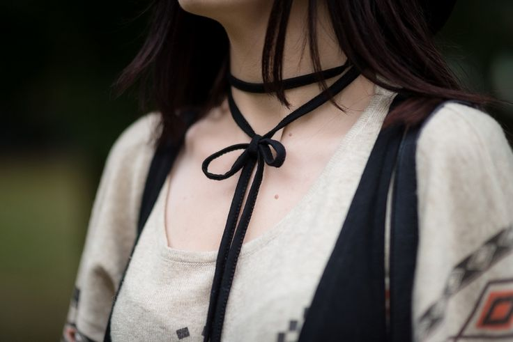 #choker #diy #boho #vest #inspiration #fashion