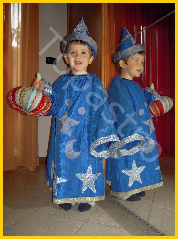 Mamma Claudia e le avventure del Topastro: Costume Mago per Halloween