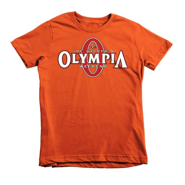 Kids 2016 Joe Weider's Olympia Classic Tee - Red Logo