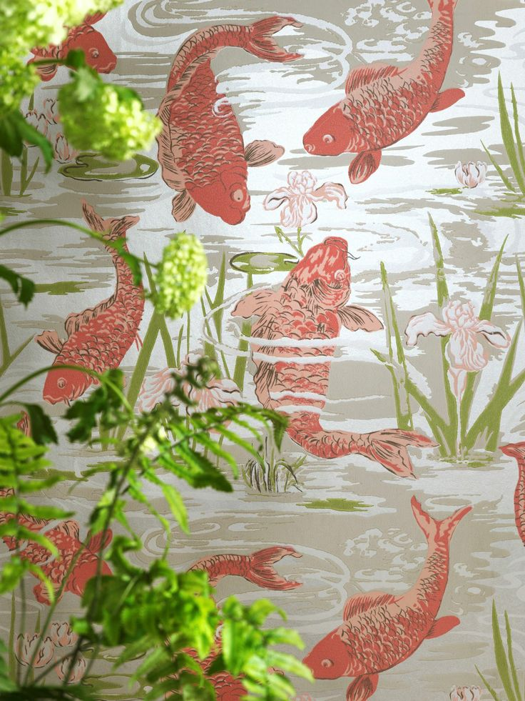Lagoon wallcovering, from the Compendium collection, by Blendworth.