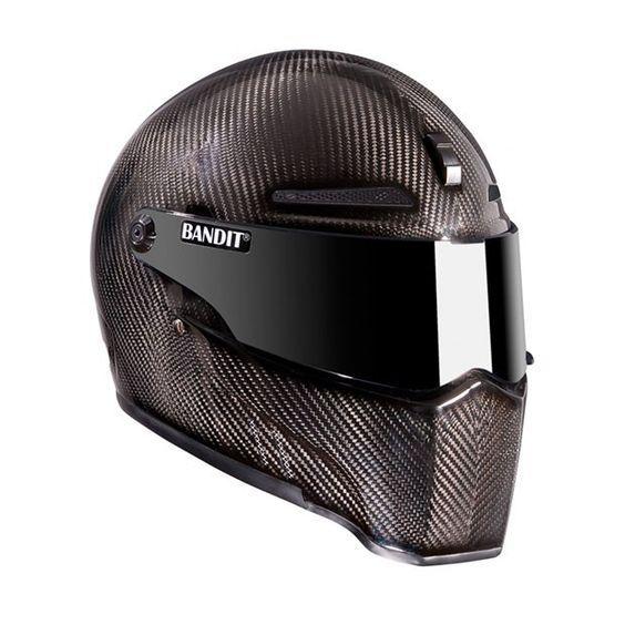Bandit Alien-II Carbon Fiber Motorcycle Helmet
