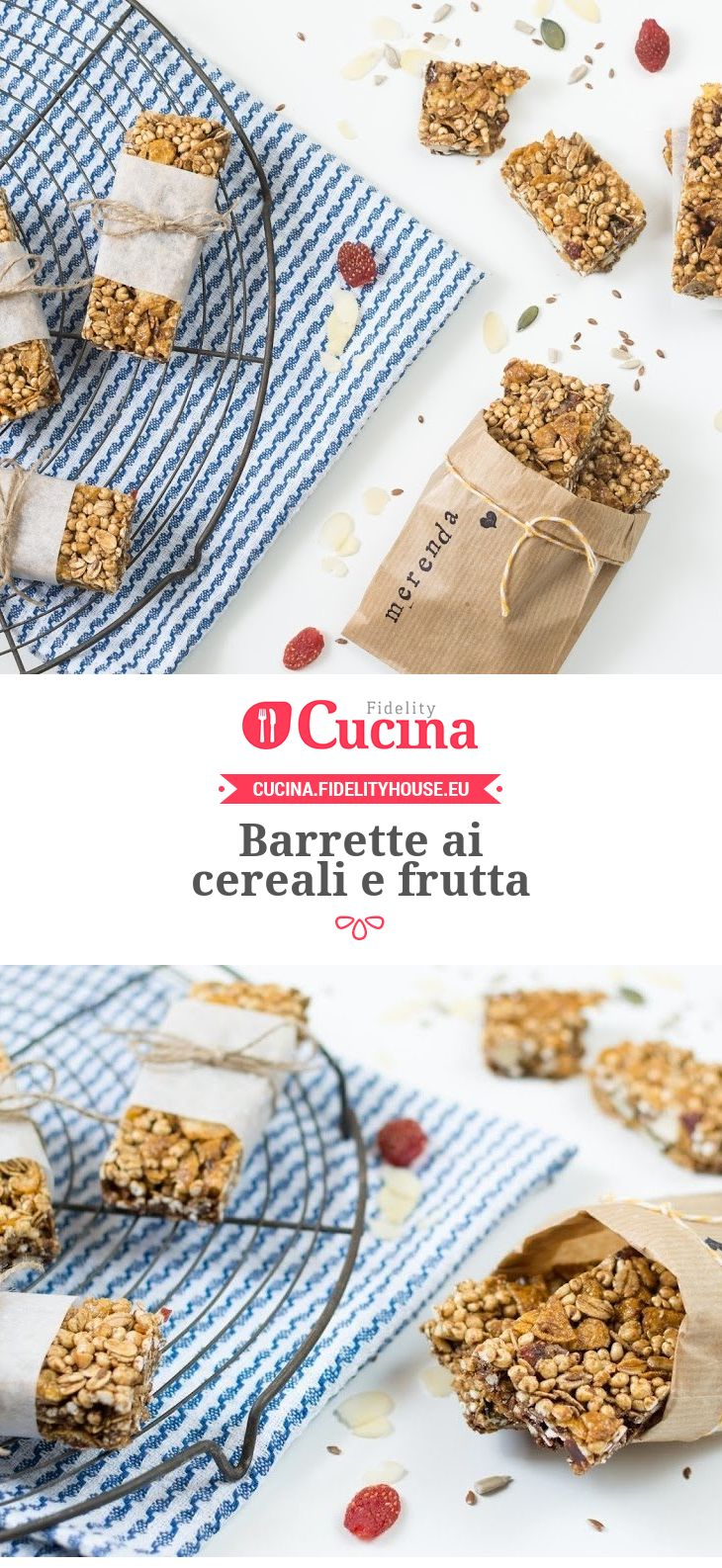 Barrette ai #cereali e #frutta della nostra utente Beatrice. Unisciti alla nostra Community ed invia le tue ricette!