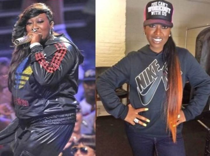 "Missy Elliott lost by FOCUSING and DIGGING freakin' DEEP! She said: ""This time I lost 30 [pounds] eating healthy/work out to Shaun T Focus T25 videos. I do the Insanity workout. Sweets/bread/ fried foods is my weakness. It's not easy but health comes 1st :)"" Learn more here: http://www.onesteptoweightloss.com/focus-t25-vs-insanity"