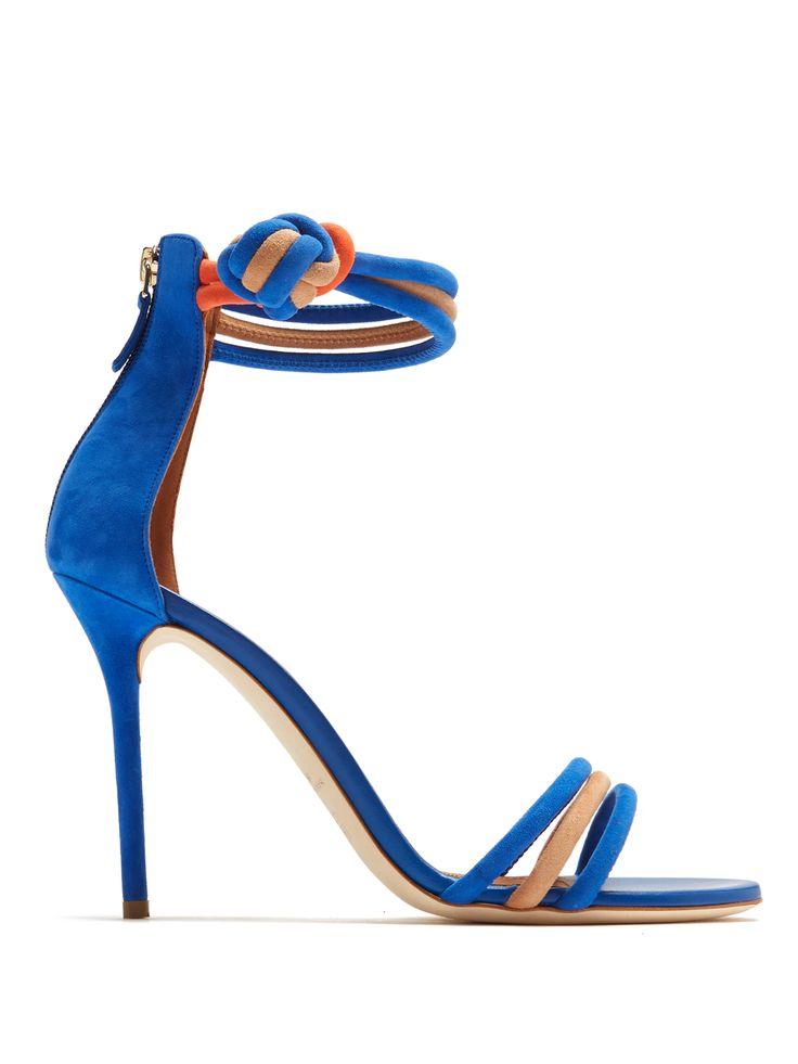 Malone Souliers X Roksanda Ethel suede sandals
