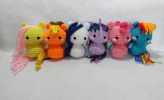 Hey, I found this really awesome Etsy listing at https://www.etsy.com/listing/109115691/crochet-my-little-pony-amigurumi-set