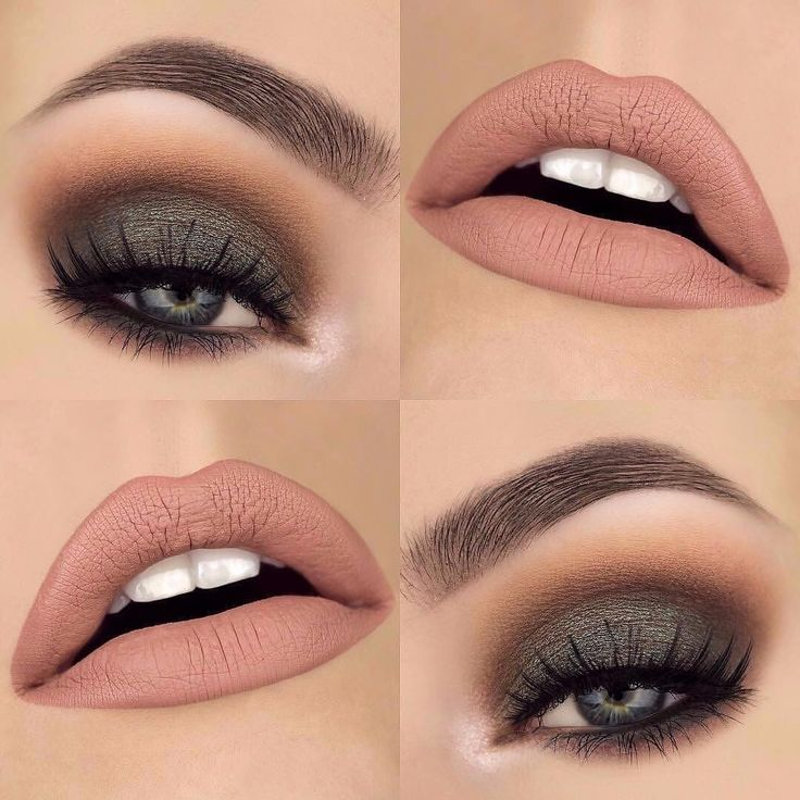 "Beautiful look @makeupthang  BROWS: #BrowWiz in Dark Brown  EYES: Urban Decay Gwen Stefani palette ""zone"" and ""punk. Mac Cosmetics shadow in ""club""  LIPS: ABH Pure Hollywood liquid lipstick combined with @jeffreestarcosmetics Velour liquid lipstick ""Im Nude""  #anastasiabeverlyhills"