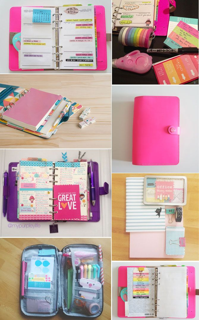 Filofax supplies