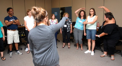 Teachers are trained in Tribes at Waterloo Region District School Board.