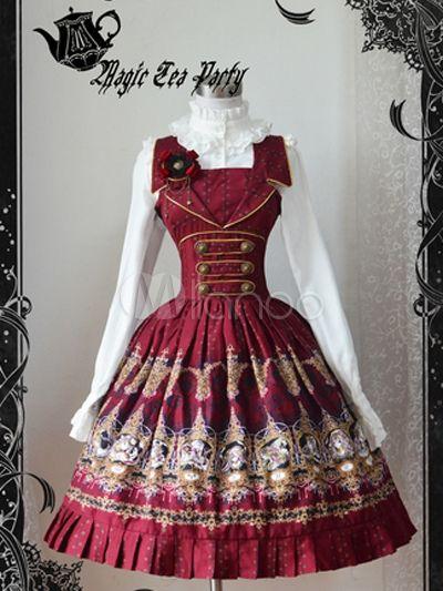 Lolita Kleid aus reiner Baumwolle - Milanoo.com