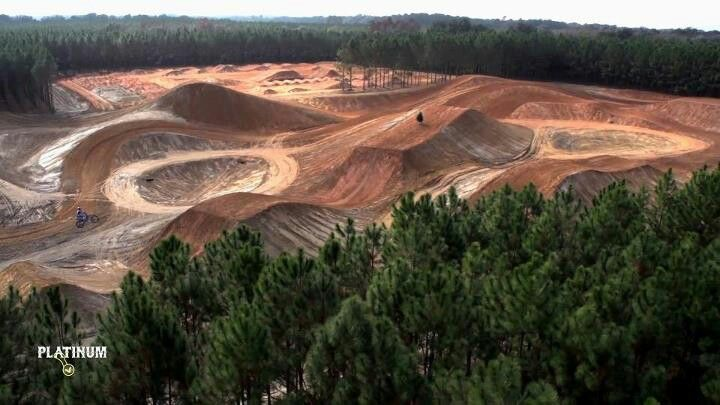 One of my houses will have this motocross track on my property
