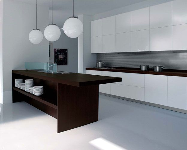 Kitchen glass wall cabinet door on simple kitchen design feat sectional countertop and wooden chairs