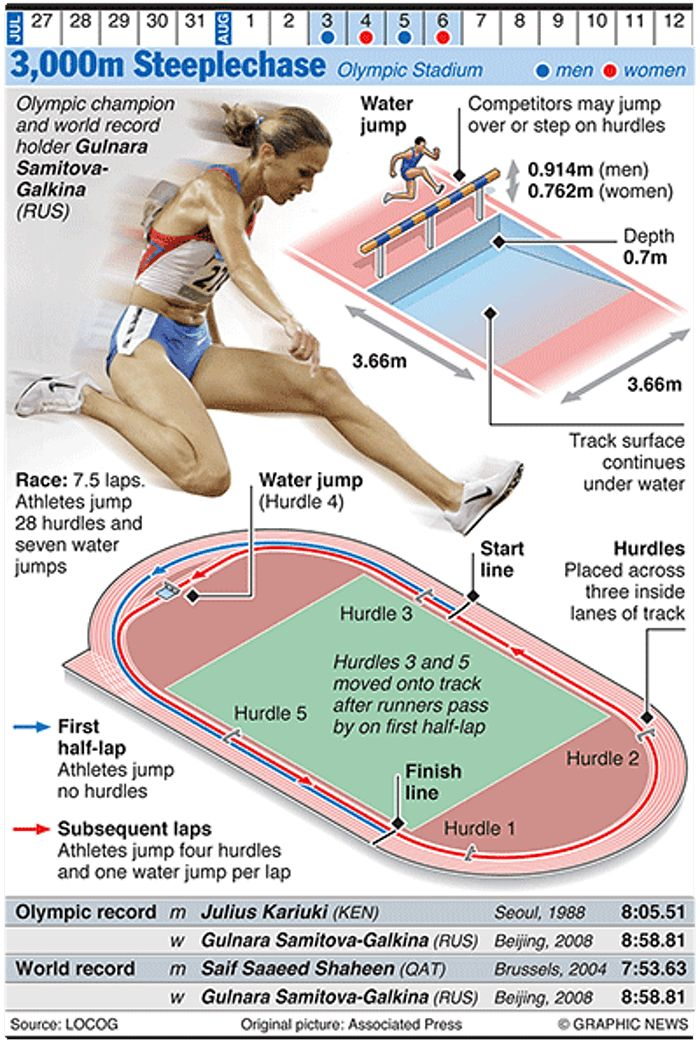 Olympicsgraphicstrack: OLYMPICS 2012: 3,000m Steeplechase