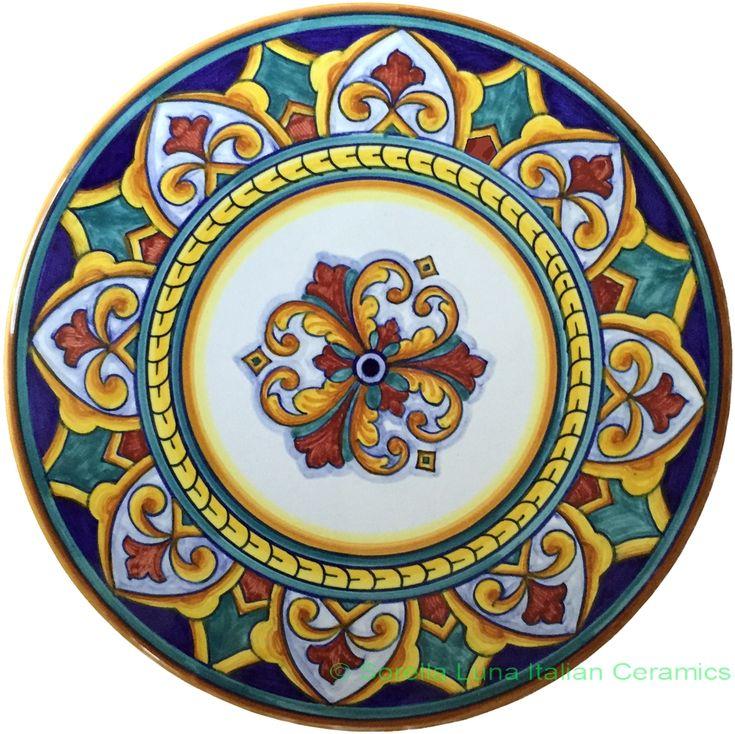 Italian Ceramic cheese cake plate