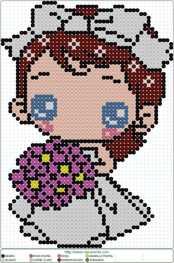 Bride - Wedding Perler Bead Pattern