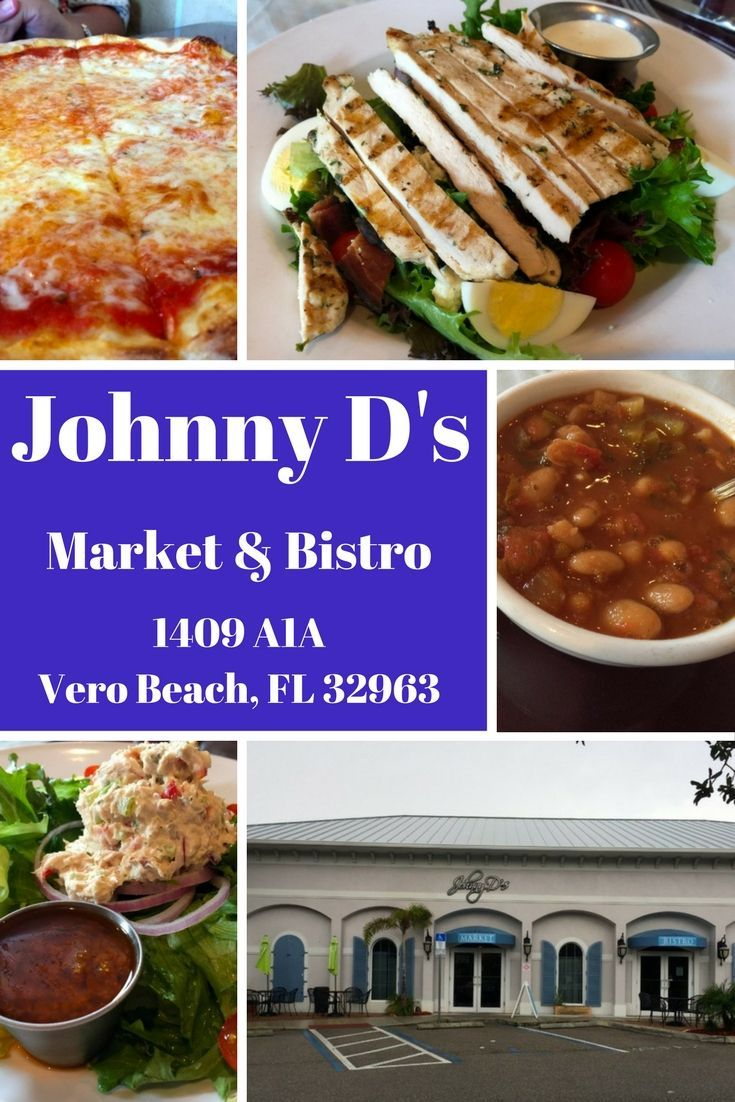 Do you have a favorite go-to restaurant for take home meals? Johnny D's Market & Bistro is mine, located on the barrier island of Vero Beach, Florida.