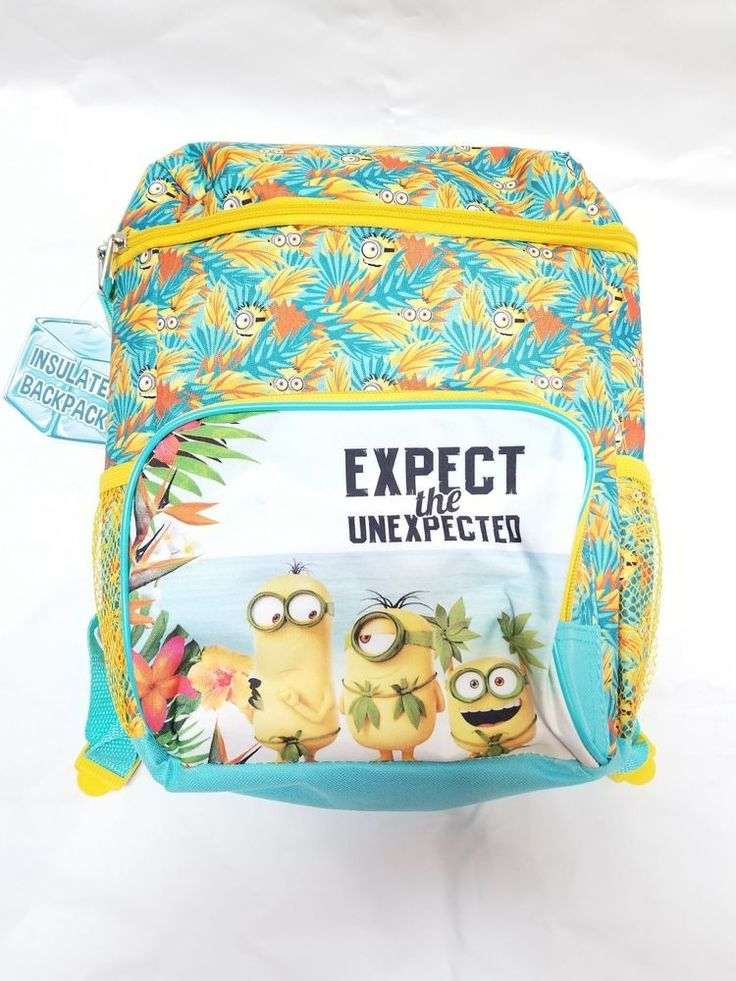 Despicable Me Minions Insulated Backpack ai accessory innovations, NWT #accessoryinovations #Backpack