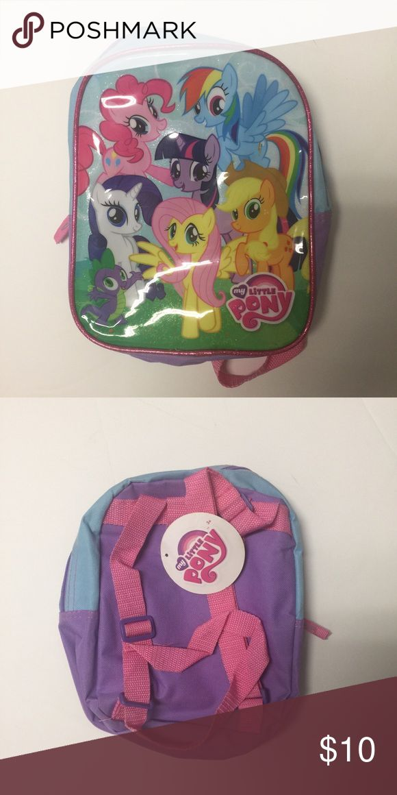 My little pony backpack NWT! My Little Pony Accessories Bags