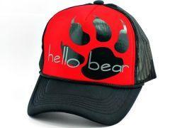 Hello Bear Ayı Pençesi Cap Şapka