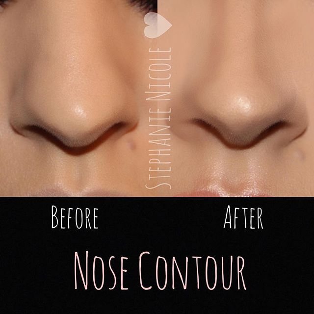 ✨Nose Contour✨  Using a few products can help alter the look of your nose. -Products used: - @lagirlcosmetics Beautiful Bronze concealer to contour - @urbandecaycosmetics Light Warm concealer to highlight - @lauramercier translucent powder to set concealer - @anastasiabeverlyhills Fawn contour to set cream contour - @benefitcosmetics watts up to add a light highlight on the tip of the nose  #nosecontour #anastasiabeverlyhills #muastephnicole #lagirlcosmetics #benefitcosmetics #urbandecay