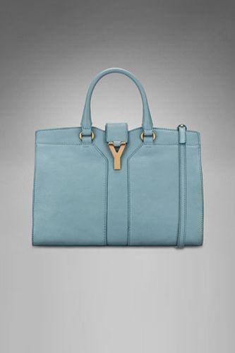 YSL: Pastel Blue, Blue Ysl, Designer Handbags, Purses Blog, Design Handbags, Tiffany Blue, Dreams Bags, Blog Spill, Women'S Handbags