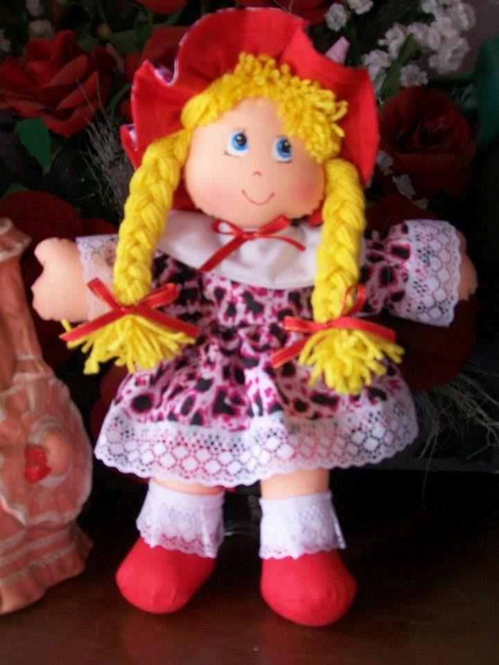 muñeca de trapo moldes - Pesquisa Google   MUÑECAS DE ...