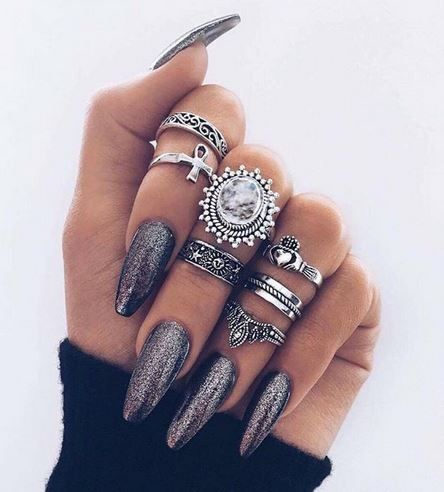 1000 ideas about nails on pinterest nail nail nail art and nails magazine. Black Bedroom Furniture Sets. Home Design Ideas