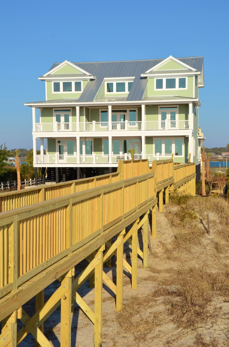 1000 images about gulf stream breeze garden city sc for Custom beach house