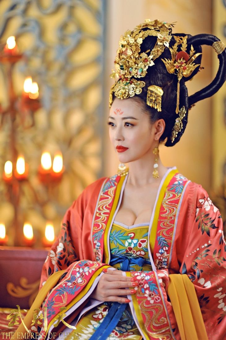 colours mustard and orange The Empress of China 《少女武则天》 - Fan Bingbing, Zhang Fengyi, Zhang Ting - Page 2