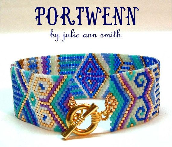 Julie Ann Smith conçoit le modèle Bracelet par JULIEANNSMITHDESIGNS