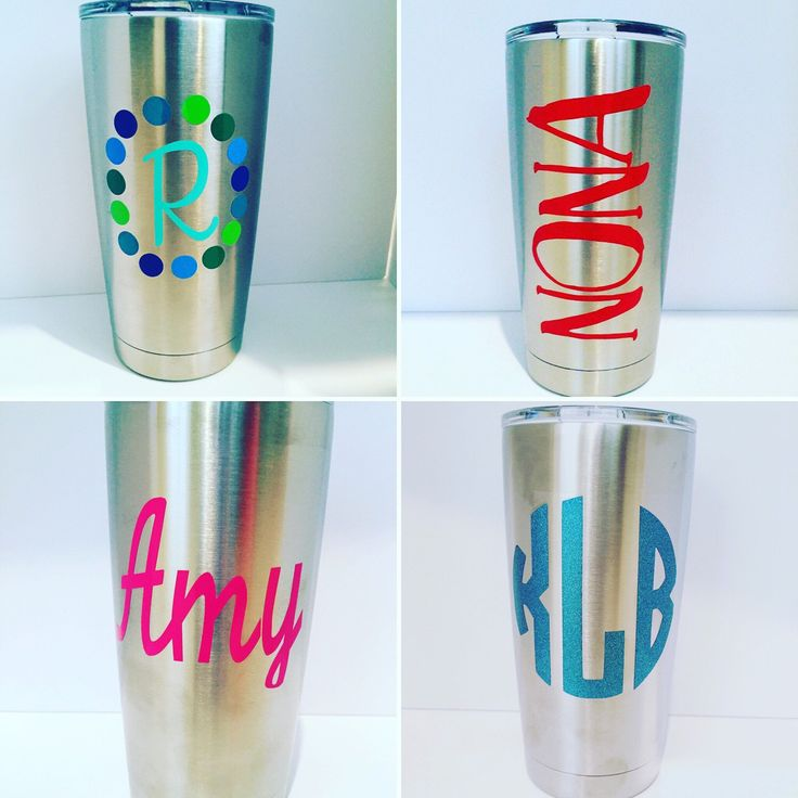 A personal favorite from my Etsy shop https://www.etsy.com/listing/243385655/personalized-yeti-20-oz-tumbler-custom