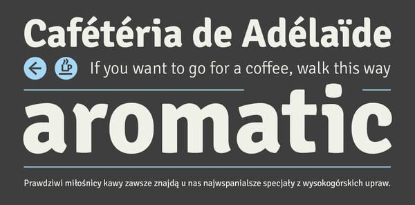 awesome fonts!   Signika at Behance Network