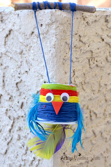 K Cup Bird Toy Craft Puppet for Play