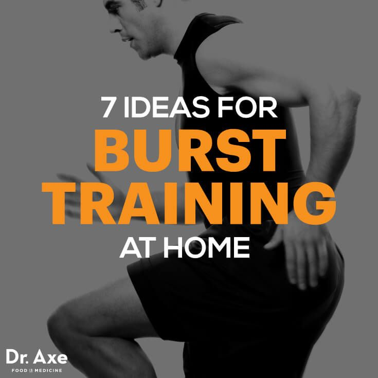 7 Ideas for Burst Training at Home - DrAxe.com