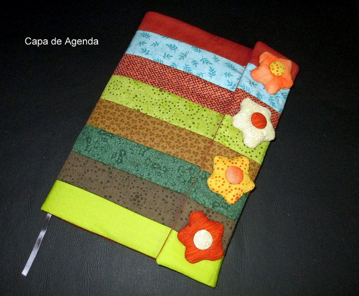 Capa de Agenda ou Livro flores
