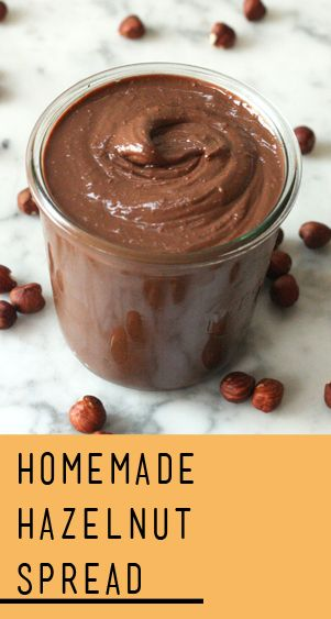 about Hazelnut Spread on Pinterest | Chocolate Hazelnut, Chocolate ...