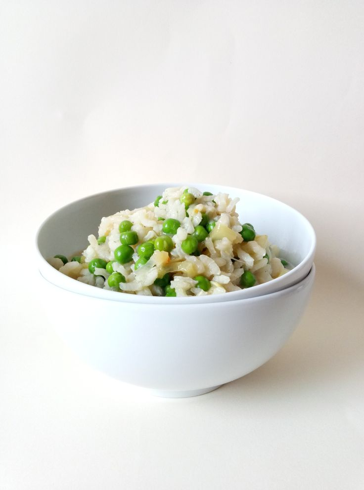 Risotto is very easy to make and I'm sure, if you make this Risotto with Zucchini and Pea, you will totally love it, because it's really delicious.  #risottorecipes #howtomakerisotto