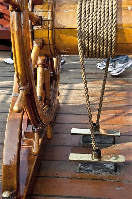 The Rope That Winds around the Ship's Wheel.