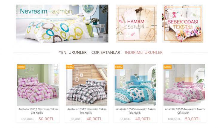 Evimfit Tekstil E-Ticaret Sitesi - Silüet Tanıtım Alışveriş Sitesi Web Tasarımı 2