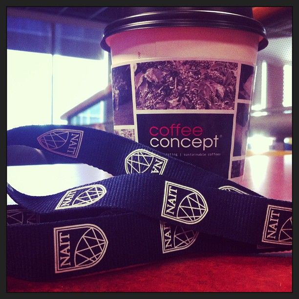 #NAITbacktoschool entry by @katesloewen. Caption ' Free coffee till 9:30 from #CoffeeConcept this morning!' #NAIT