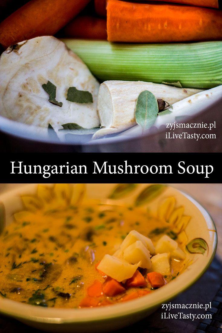 Tasty mushroom soup ! ;D