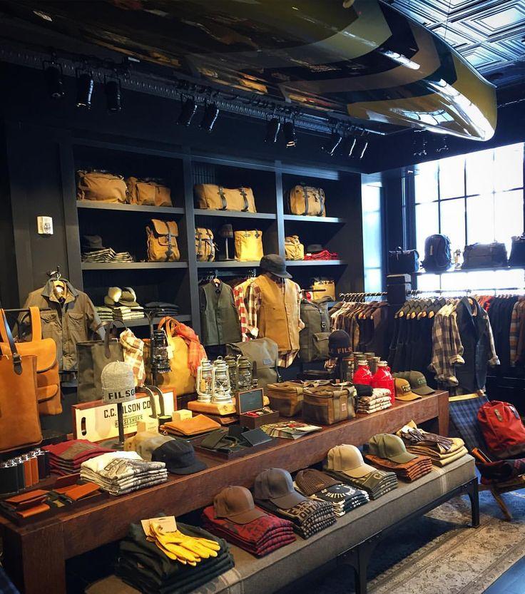 Filson store in Jackson Square, San Francisco. #sanfrancisco #sfblogger #filson #workwear #menswear #blogger (at Filson)
